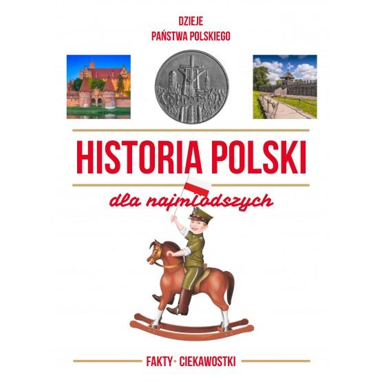 Książka Historia Polski dla najmłodszych praca zbiorowa