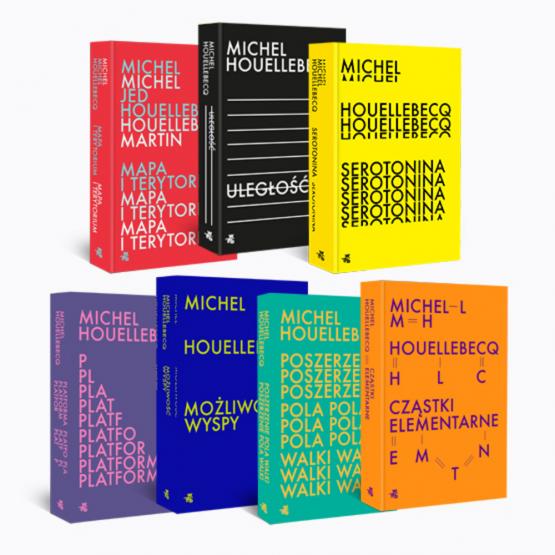 Książka Pakiet 7 książek. Michel Houellebecq Michel Houellebecq