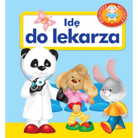 Książka Idę do lekarza. Pianki Kozłowska Urszula
