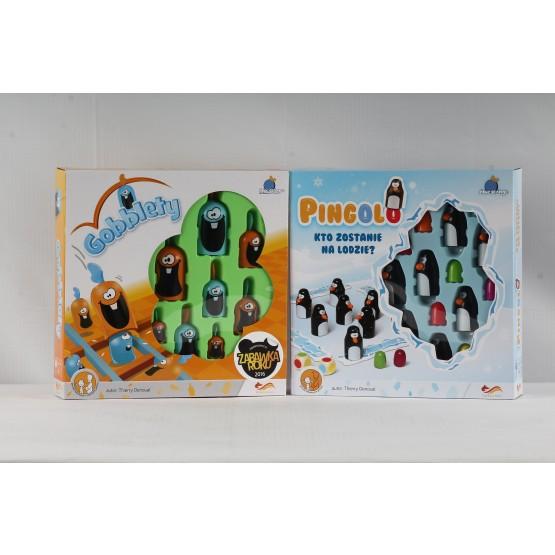 Gra familijna Pakiet Gobblety i Pingolo