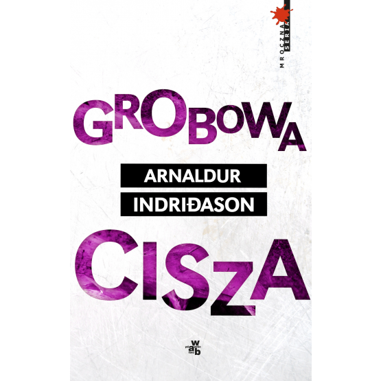 Książka Grobowa cisza Indriðason Arnaldur