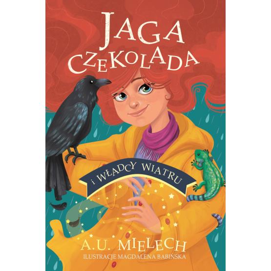 Książka Jaga Czekolada i władcy wiatru Mielech Agnieszka