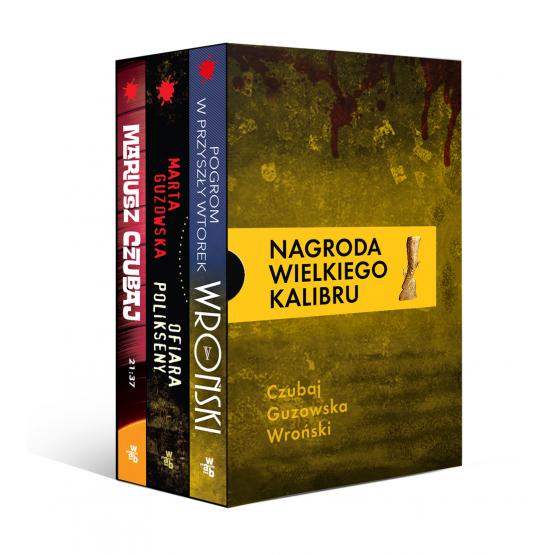 Książka Pakiet Wielkiego Kalibru: 21:37 / Ofiara Polikseny / Pogrom w przyszły wtorek Czubaj Mariusz Guzowska Marta Wroński Marcin