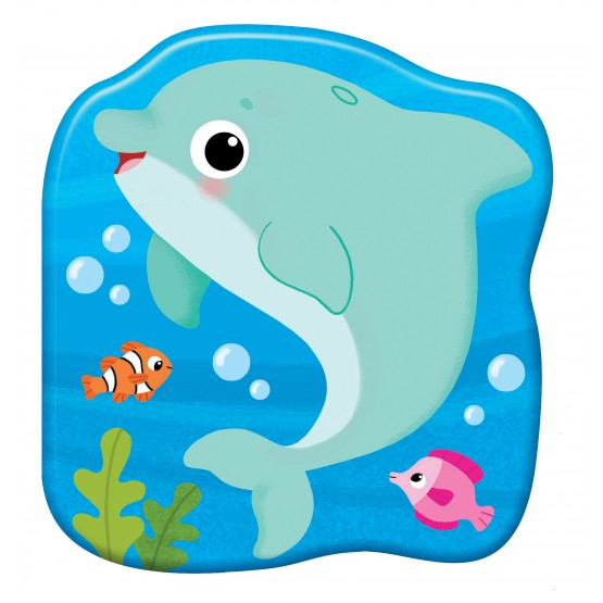 Książka Książeczka kąpielowa. Delfin Plum praca zbiorowa