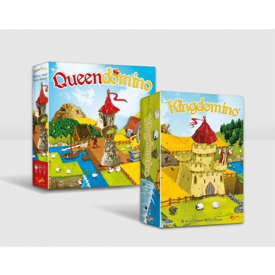 Gra familijna Pakiet: Kingdomino / Queendomino