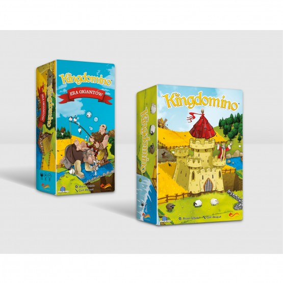 Gra familijna Pakiet: Kingdomino / Kingdomino - Era Gigantów