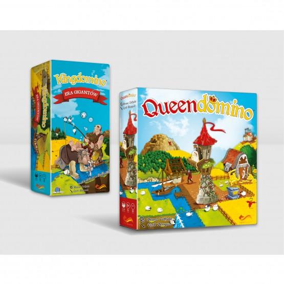 Gra familijna Pakiet: Queendomino / Kingdomino - Era Gigantów