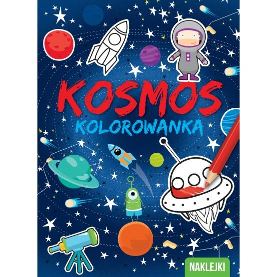 Książka Kolorowanki. Kosmos praca zbiorowa