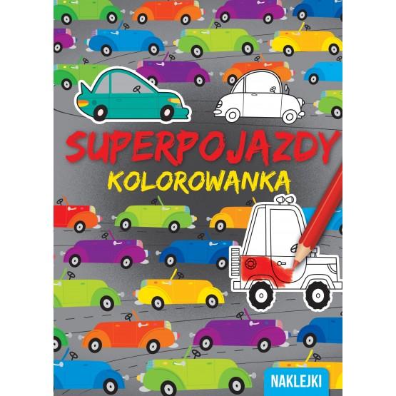 Książka Kolorowanki. Superpojazdy praca zbiorowa