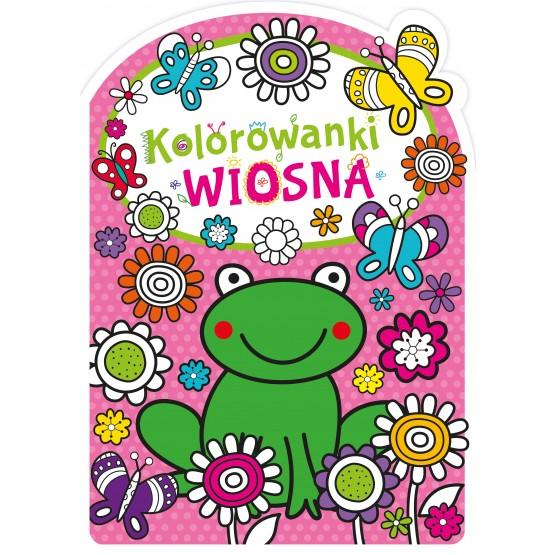 Książka Kolorowanki z wykrojnikiem. Wiosna praca zbiorowa