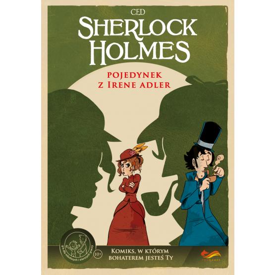 Gra fox 3a Sherlock Holmes. Pojedynek z Irene Adler. Komiks paragrafowy