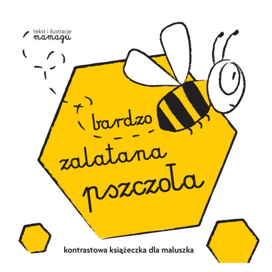Książka Robaczki. Bardzo zalatana pszczoła Urbaniak Natalia