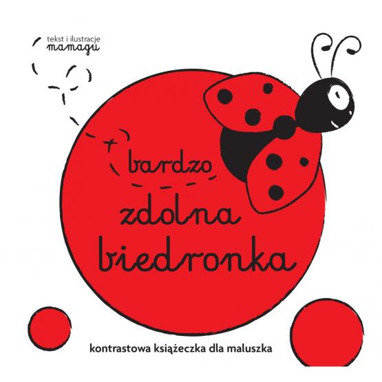 Książka Robaczki. Bardzo zdolna biedronka Urbaniak Natalia