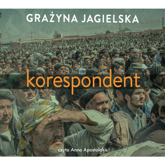 Książka Korespondent Jagielska Grażyna