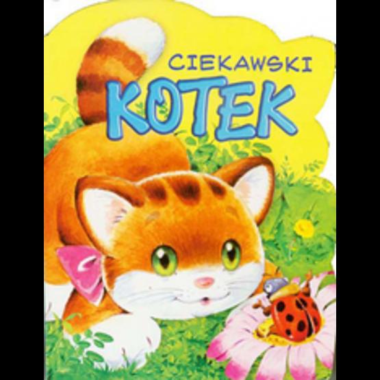 Książka Ciekawski kotek. Wykrojnik Kozłowska Urszula
