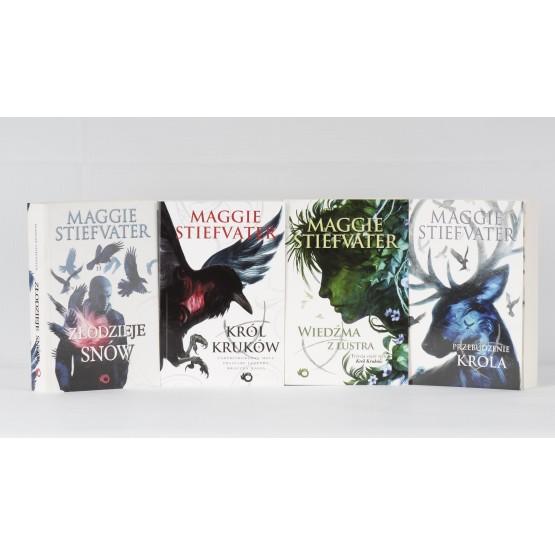 Książka Pakiet: Król Kruków. Tom 1-4 Stiefvater Maggie