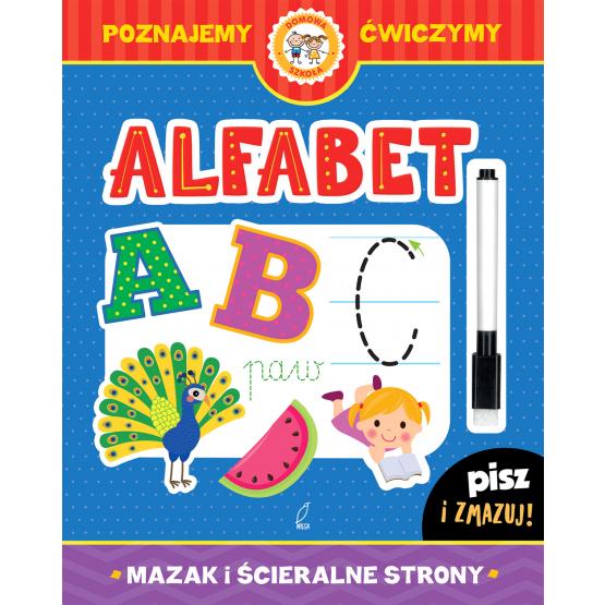 Książka Alfabet. Pisz i zmazuj Praca zbiorowa