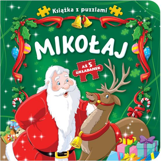 Książka Książka z puzzlami. Mikołaj Praca zbiorowa