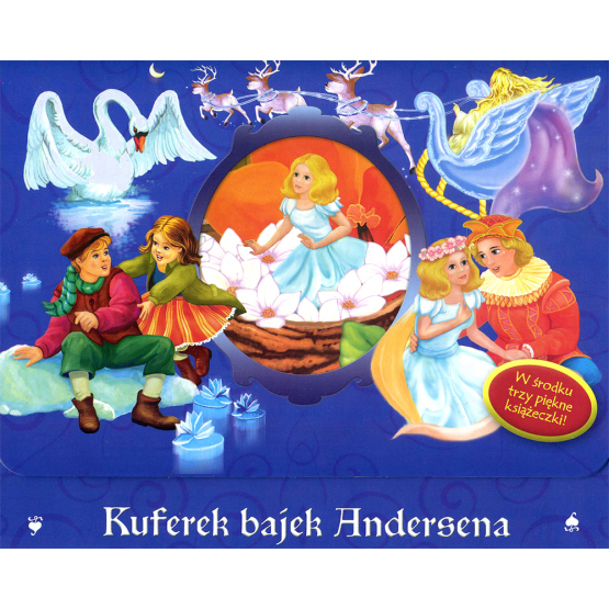 Książka Kuferek bajek Andersena Andersen J.Ch.