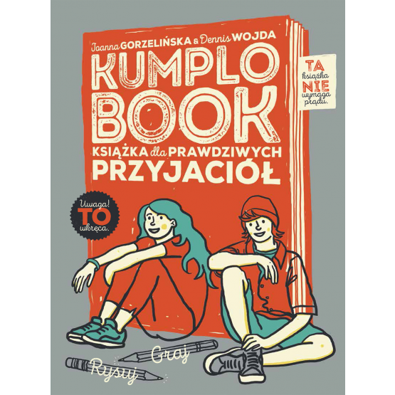 Książka Kumplobook Gorzelińska Joanna