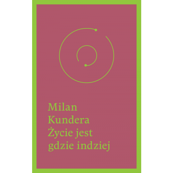 Książka Życie jest gdzie indziej Kundera Milan