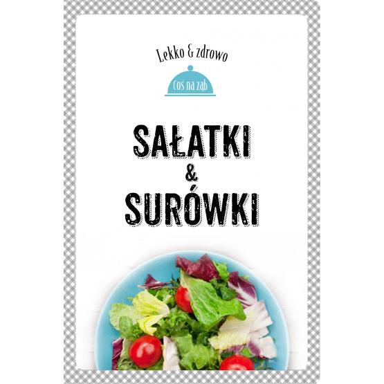 Książka Sałatki i surówki Dobrowolska-Kierył Marta Mrowiec Justyna