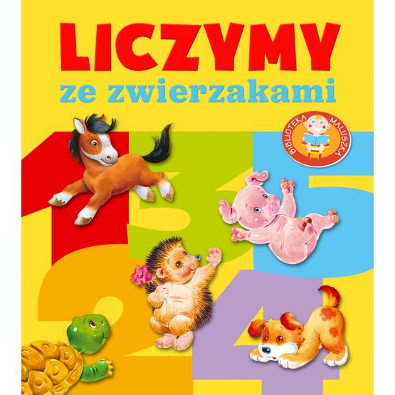 Książka Liczymy ze zwierzakami. Pianki Kozłowska Urszula