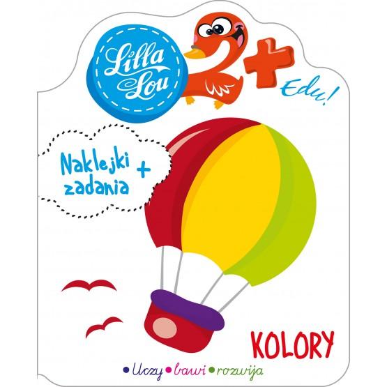 Książka Lilla Lou Edu. 2+. Kolory praca zbiorowa
