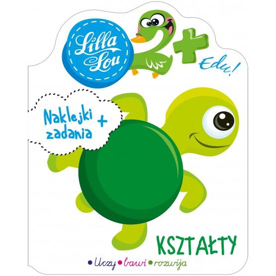 Książka Lilla Lou Edu. 2+. Kształty praca zbiorowa