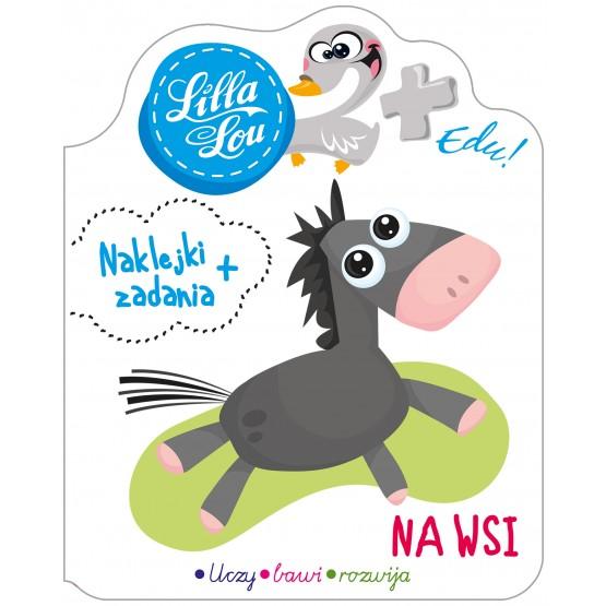 Książka Lilla Lou Edu. 2+. Na wsi praca zbiorowa