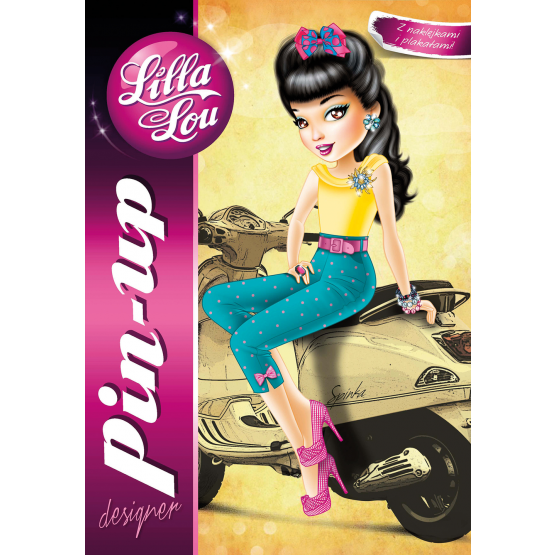 Książka Lilla Lou. Pin-up Praca zbiorowa