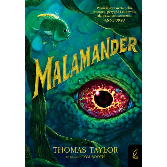 Książka Malamander Thomas Taylor