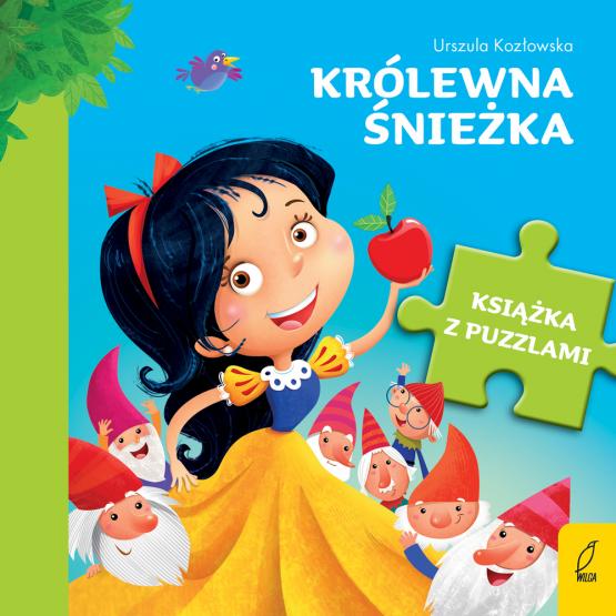 Książka Książka z puzzlami. Królewna Śnieżka Urszula Kozłowska
