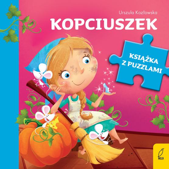 Książka Książka z puzzlami. Kopciuszek Urszula Kozłowska