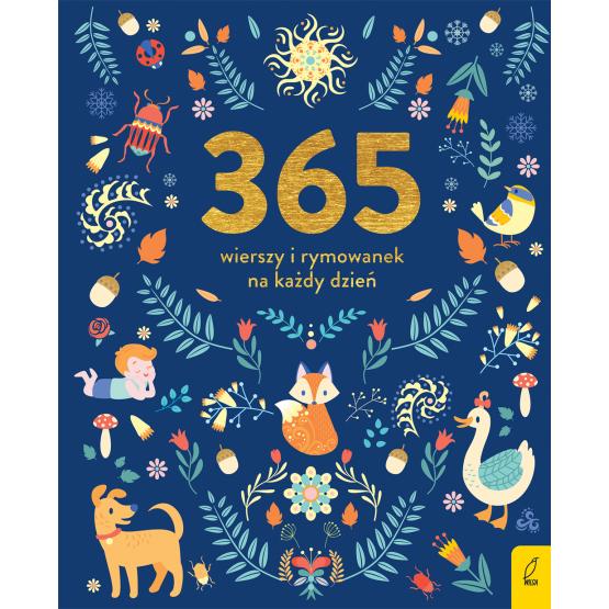 Książka 365 wierszy i rymowanek na każdy dzień Praca zbiorowa