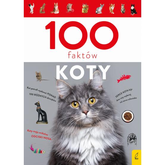 Książka 100 faktów. Koty Małgorzata Biegańska-Hendryk
