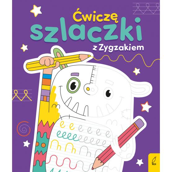 Książka Ćwiczę szlaczki z Zygzakiem Joanna Gos