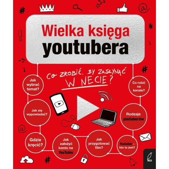 Książka Wielka Księga YouTubera Praca zbiorowa