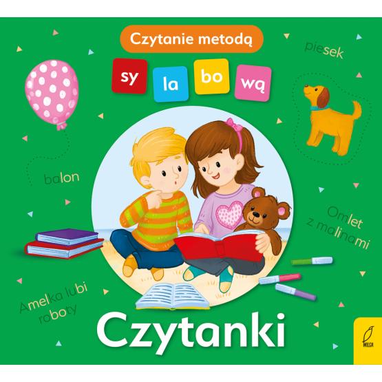 Książka Czytanki. Czytanie metodą sylabową Monika Sobkowiak