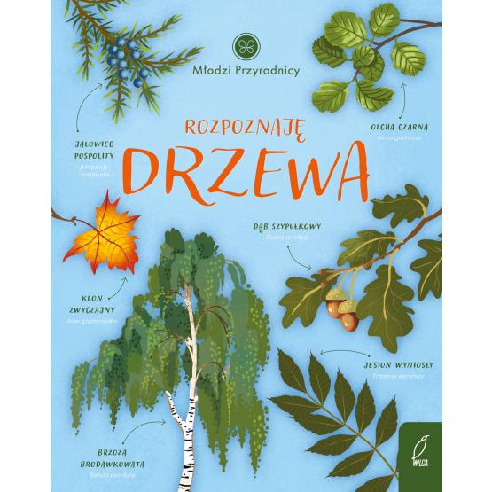 Książka Młodzi przyrodnicy. Rozpoznaję drzewa Patrycja Zarawska