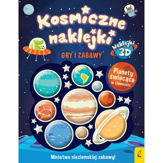Książka Kosmiczne naklejki. Gry i zabawy Praca zbiorowa