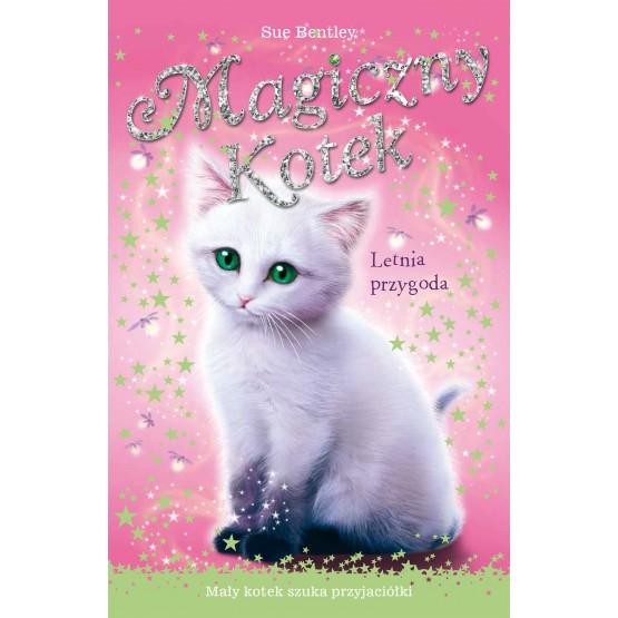 Książka Magiczny kotek. Letnia przygoda Bentley Sue