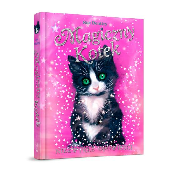 Książka Magiczny kotek. Niezwykłe opowieści Bantley Sue