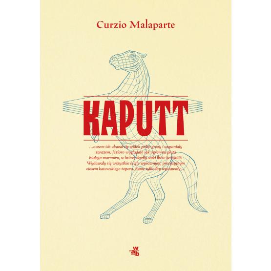 Książka Kaputt Curzio Malaparte