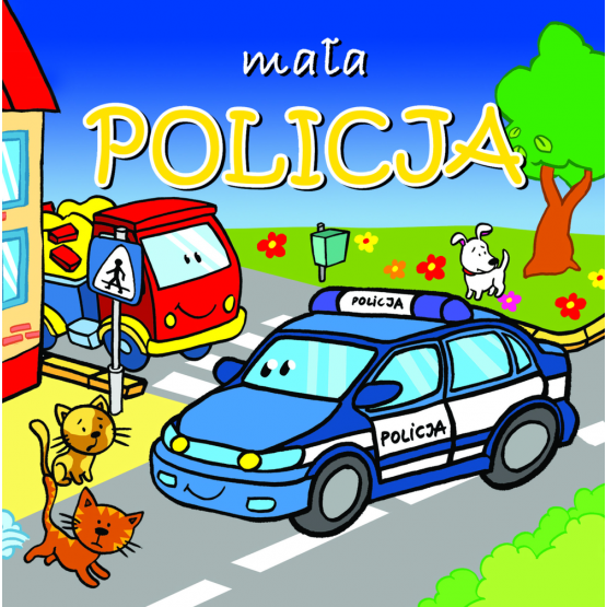 Książka Mała policja. Mini zwierzątka Kozłowska Urszula