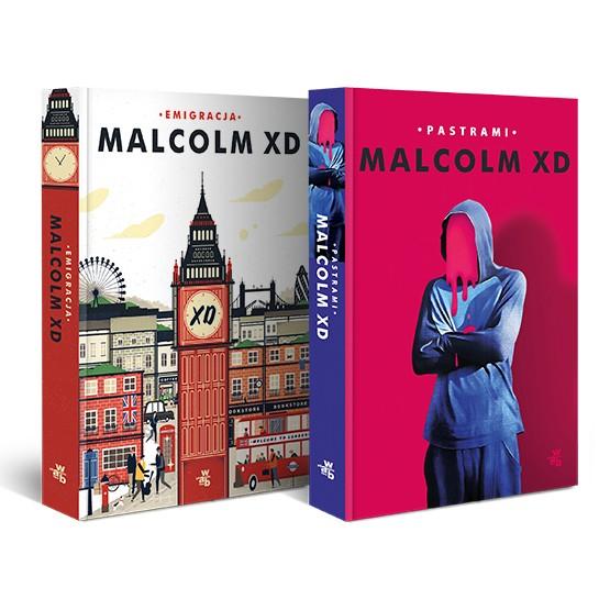 Książka Pakiet: Malcolm XD. Emigracja/Pastrami Malcolm XD
