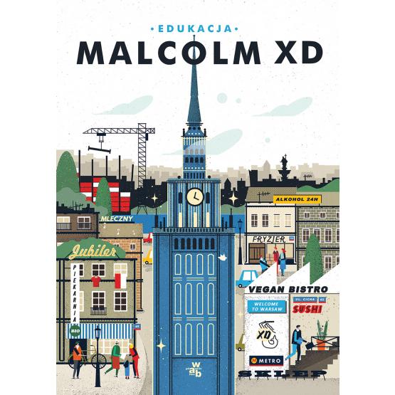 Książka Edukacja Malcolm XD