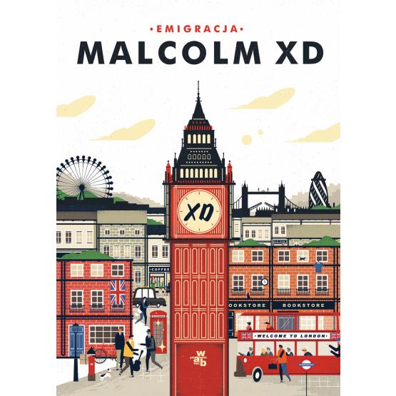 Książka Emigracja Malcolm XD