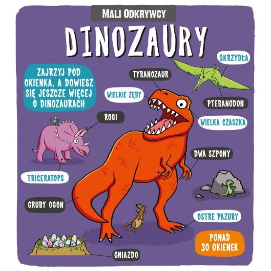 Książka Mali odkrywcy. Dinozaury praca zbiorowa