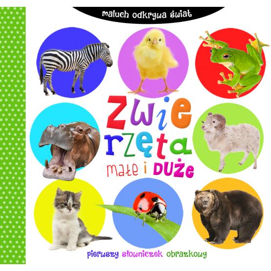 Książka Zwierzęta małe i duże. Maluch odkrywa świat Praca zbiorowa